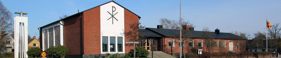 Västrabokyrkan är en samarbetskyrka mellan EFS och Svenska kyrkan i Växjö