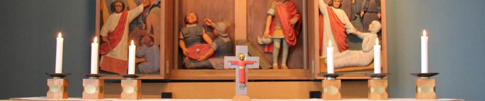Mission, frivilligengagemang och vardagskristendom är tre viktiga ledord för oss